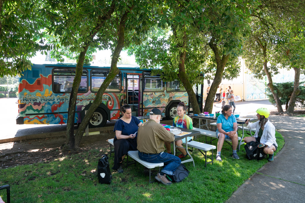 Art Bus at the Resilience Festival